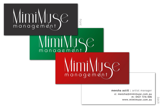 Logo Design - MimiMuse Management