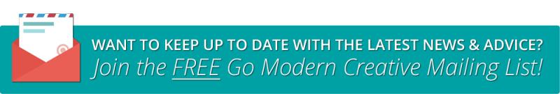 Go Modern Creative Mailing List