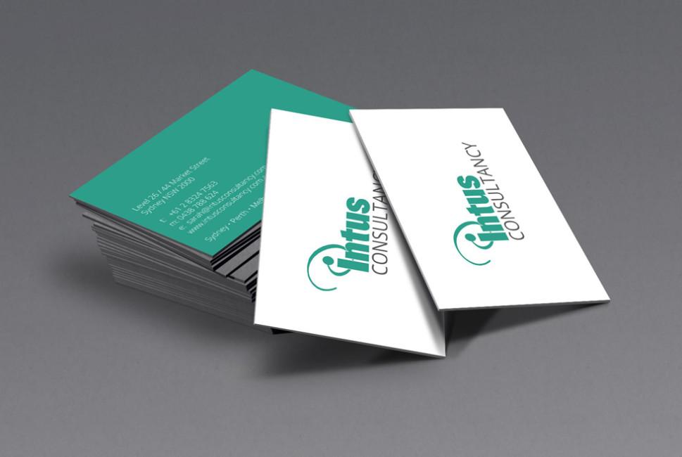 Intus consultancy perth logo design go modern creative intus consultancy reheart Images