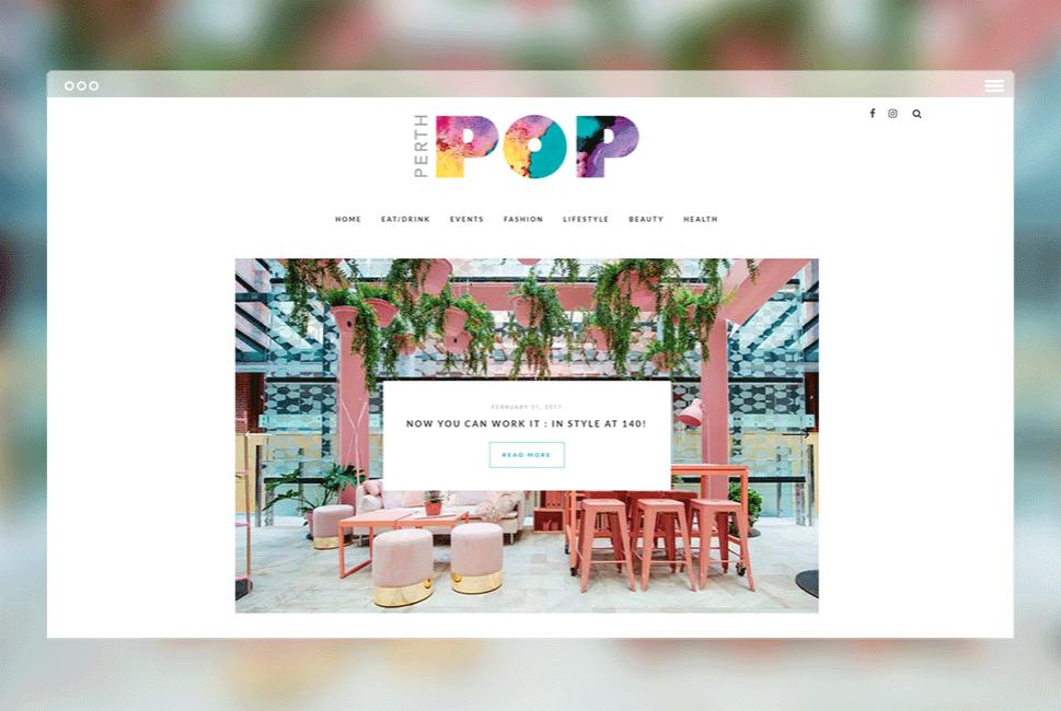 Perth POP - Perth Website Design - Go Modern Creative